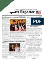September 21, 2011 Sports Reporter