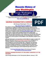 The Masonic History of George Washington