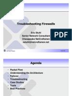 Troubleshooting Firewalls