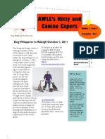 A Whole Lotta Love Newsletter September