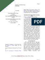D.M. Johnson Family Trust v. Country Wide Home Loans, Inc., Et Al. No. 2-09-Cv-00317, 2009 WL 3615690 (D.utah).