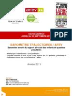 Afev_JRES2011_Baromètre VF