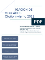 INVESTIGACION MERCADOS 1º CONTROL