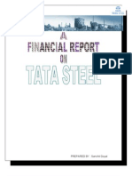 60757942 Financial Analysis of TATA STEEL