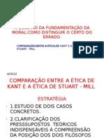 COMPARAÇÃO ENTRE AS ÉTICAS DE KANT E DE MILL