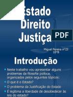Estado,Direito e Justiça