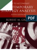 Cases to Accompany Contemporary Strategy Analysis - 1405124083
