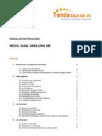Manual Geelong m9