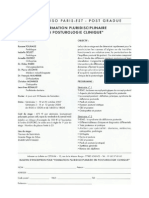 Posturologie Clinique