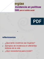 Mujeres Cdi LA cia POLITICA Presentacion