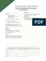 Diagnostic Ostéopathique Tissulaire Au Traitement