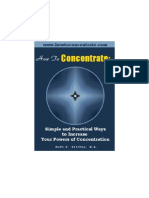 Ruth Ritchie - How to Concentrate - Simple Practical Exercises to Increase Your Powers of Concent