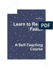 Learn to Read Faster