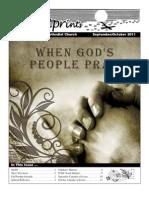 September/October 2011 Newsletter