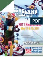 2011 Cleveland Marathon Results Book