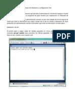 instalaciòn y configuraciòn de servidor SSH en  DEBIAN