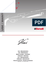 Benelli Vinci Owners Manual