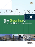 Greening of Corrections