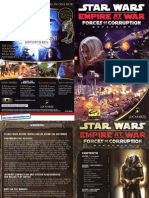 Star Wars - Empire at War - Forces of Corruption - Manual - PC