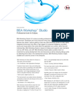 BEA Workshop Studio Ds