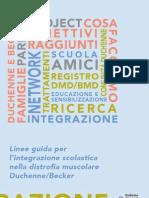 Duchenne - Linee Guida Integrazione Scolastica
