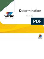 Presentation Determination