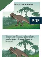 cuento dinosaurio malhumorado