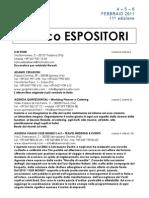 elenco espositori
