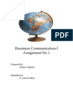 Bussiness Communication
