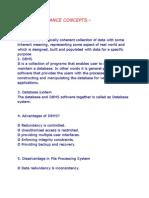 Dbms Importance Concepts