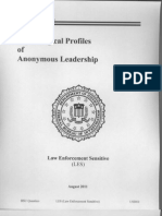 Anonymous Leadership Psych Profile