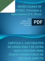 Microceldas de Combustible, Principios y Aplicaciones