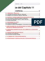 CHIL11 La Educación Especial y Diferencial