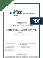 Triton Model 8100 Manual