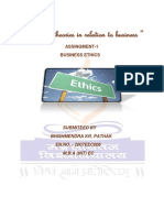 Normative Theories of Business Ethics