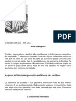 TRABALHO DE PESQUISA FILOSOFICA i - GEOMETRIAS NÃO-EUCLIDIANAS