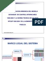 Implementacion armónica del modelo estandar  de control interno MECI