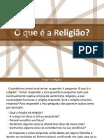 O que é a Religião