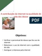 O Impacto Da Internet Na Qualidade de Vida CLODOALDO