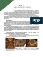 Tema 5. El arte islámico en España.