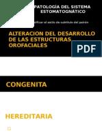 Alteracion Del Desarrollo de Las Estructuras les