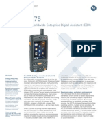 Mc75 3 5 g Spec Sheet (1) Motorola