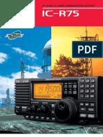 IC-R75 Brochure n