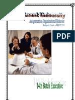 Organizational Behavior - 01