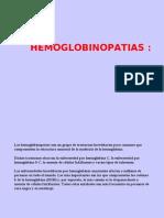 HEMOGLOBINOPATIAS ACTUALIZADO