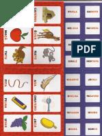 jogos de alfabetização - bingo dos sons iniciais