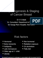 Etiopathogenesis & Staging of Cancer Breast