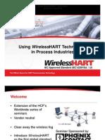 Using Wireless Hart Technology