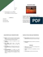 Resumen Expo Sic Ion TRANSPORTE AEREO