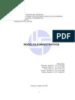 Monografia Unidad 4 Modelos Admon